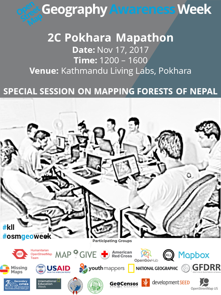 Geography Awareness Week - 2C Pokhara Mapathon